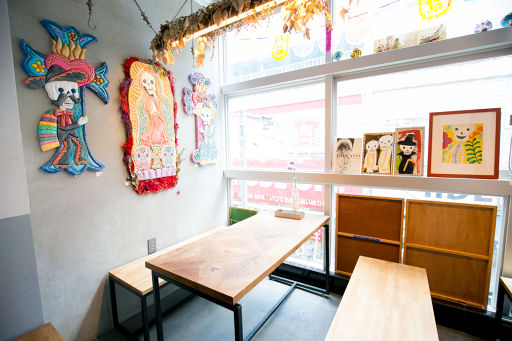 THE DAY FOOD LABの店内